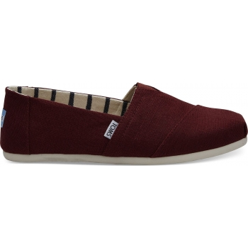TOMS Heritage Canvas Men´s Alpargata, Red