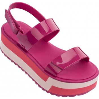 Slash Plat Sandal Pink