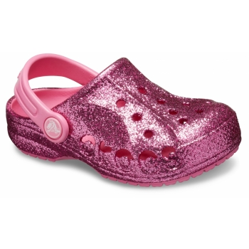 Baya Glitter Clog Kids Pink Lemonade