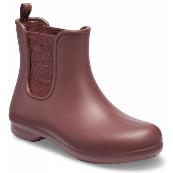 Freesail Chelsea Boot W Metallic Burgundy