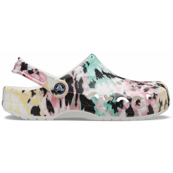 Baya Seasonal Printed Clog Multi/White