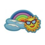 Rainbow Sun Charm SS17