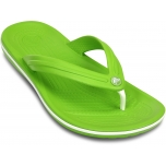 Crocband Flip Volt Green/White