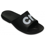 Crocband Graphic Slide Black/White