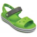 Crocband Sandal K Volt Green/Smoke