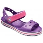 Crocband Sandal K Amethyst/ Party Pink