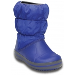 Winter Puff Boot K Cerulean Blue/Light Grey