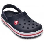 Kids' Crocband Clog Navy/Red