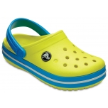 Crocband Clog K Tennis Ball Green/Ocean