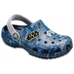 Classic Star Wars Graphic Clog k Navy