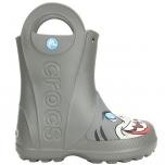 Crocs FL Creature Rain Boot K Slate Gray