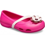 Lina Charm Flat Kid's Candy Pink