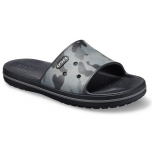 Crocband III Seasonal Graphic Slide Slate Grey/Black