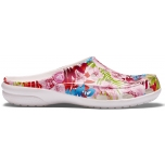 Crocs Freesail  Graphic Clog W Tropical Floral/White