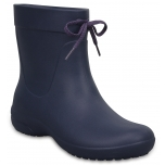 Crocs Freesail Shorty Rain Boot Navy