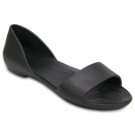 Crocs Lina  Dorsay Flat Black/Black