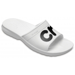 Crocband Graphic Slide White/Black