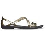 Isabella Strappy Sandal W Black