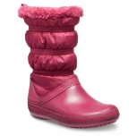 Crocband Winter Boot Women Pomegrante
