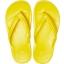 Crocband Flip Bright  Lemon/White