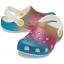 Classic Ombre Glitter Clog Kids Oyster/Multi