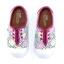 Canvas Vintage Tiles Kid's Zuma Sneaker Pink
